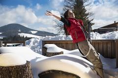 Winter auf der Teichalm genießen (Naturpark Almenland) Tags: almenland naturpark steiermark oststeiermark urlaub alm teichalm sommeralm winter wintersport natur
