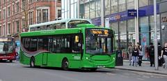 376 on Brown Line 16C (timothyr673) Tags: nottinghamcitytransport nct bus