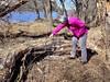 Catherine inspecting a rotting tree along the Elkhorn River, Wisner (ali eminov) Tags: wisner nebraska nature deadtrees catherine