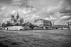 Sur la Seine I (françoispeyne) Tags: enfrance paname paris seine noiretblanc