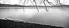 Intorno a me solo il rumore del mio respiro   ...........            Around me only the noise of my breath ......... (Marco_964) Tags: lago lake bw bn bianconero biancoenero blackwhite rain pioggia reflection gocce drops pentax pentaxk50 pentaxian panorama landascpe
