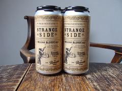 Strange Side Belgian Blonde (knightbefore_99) Tags: strangefellows parkside beer cerveza pivo can craft bc vancouver strangeside belgian blonde ale camra real tasty hops malt