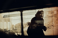 berlin 1945 (t.horak) Tags: woman war brown black gate brandenburg tur 1945 ruins berlin germany