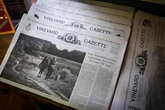Vineyard Gazette (David E Henderson) Tags: newspaper vineyard gazette edgartown massachusetts