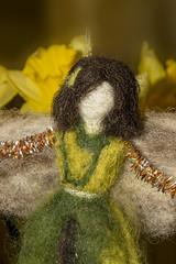Fairy (jamesallen9) Tags: macromondays fairy onceuponatime felt handmade