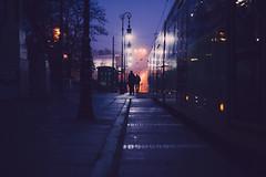 membrane (ewitsoe) Tags: fog fall autumn people transitpoznan poalnd ewitsoe cityscape mody mood atmosphere urban tram poznan polska polski europe sigma canon eos 6dii street city vibes morning dawn