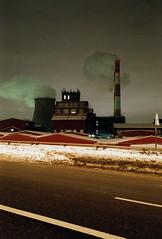 (awaysounds) Tags: leica minilux summarit night smoke film factory