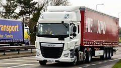 FN15 SKO (Martin's Online Photography) Tags: daf cf truck wagon lorry vehicle freight haulage commercial transport a580 leigh lancashire nikon nikond7200
