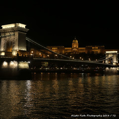 AF 2018-365-72 (Alister Firth Photography) Tags: budapest chain bridge danube river nightime