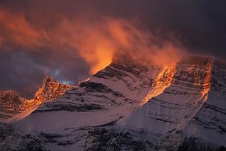 Morning Light on Mount Rundle