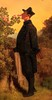 """Detail aus dem Gemälde von Carl Spitzweg """"Der Rosenfreund"""" (S. Ruehlow) Tags: museum städelmuseum städel museumsufer schaumainkai frankfurt sachsenhausen gemälde derrosenfreund rosenfreund spitzweg carlspitzweg"""
