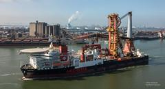 Aegir (Peet de Rouw) Tags: europoortrotterdam zuidholland nederland nl aegir heerema cranevessel offshore portofrotterdam port drone djimavicproplatinum peetderouw