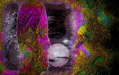Sueños siderales (seguicollar) Tags: imagencreativa photomanipulación art arte artecreativo artedigital virginiaseguí caras faces faz esferas sideral espacio color colorido tramas tratamientos