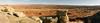 Utah Badlands - Lana Comeaux (Lana Comeaux) Tags: landscape rock utah desert usa sky canyon sandstone nature southwest scenic badlands view utahlandscape summer outdoors idyllic valley travel wild american west united geology wilderness america states western trail background geological arid beauty grand outdoor rimrock wildwest utahrocks utahmountains ruralutah canyonland remote rugged nobody scenery utahdesert horizontal orange landmark formation lana comeaux lanacomeaux