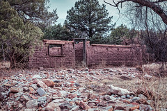Sutler's Row (Camp Rucker) (Gundek) Tags: arizona chiricahuamountains abandoned indianwars apachewars camp camprucker army adobe sutler history chiricahuanationalmonument frontier forestservice west ranch americanhistory westernhistory chiricahua apache geotagged gps