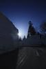 2480 (Keiichi T) Tags: 夜景 空 星空 木 6d road 電車 blue 月明かり winter night shadow eos canon 日本 影 snow 冬 雪 星 star 月 夜空 moon japan moonlight light sky 夜