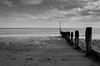 Teignmouth (Richgt1) Tags: bw teignmouth sea groynes