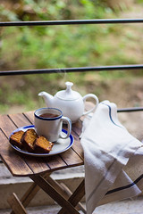 Tea-time... (Chandrima Sarkar) Tags: tea chai photography foodphotography foodstyling depthoffield cake