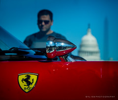Ferrari with Capitol Building and Washington Monument (YL168) Tags: ferrari capitolbuilding washingtondc car sony a6500 sonyflickraward