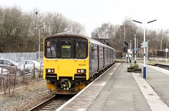 """150120 180401 Wigan Wallgate Chester-Southport (Skiddaw D3) Tags: """"wiganwallgate"""" 150120 """"class150"""""""