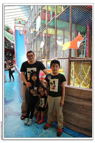 《幸福行》奇幻島探索樂園‧京華城B2x網繩迷宮x探索樂園x球池