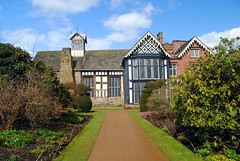Rufford Old Hall from the garden path (zawtowers) Tags: ruffordoldhall rufford lancashire national trust property hesketh family residence gradei listed building built 1530 historic house garden path rear view walking