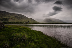 Kilchurn Castle (MarkWaidson) Tags: kilchurn castle loch awe scotland mountains weather rain clouds
