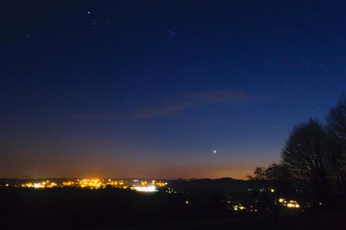 Venus at dusk