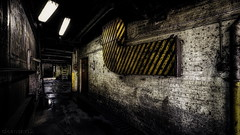 Industry #4 - 2k urbex wallpaper DSC0435 HDR Pano-Nik-14 (cleansurf2 Urbex) Tags: industrial ilce7m2 industry indoors interior architecture a7ii age decay dark grime gritty commercial color colour contrast cool company cinamatic photography old urbex urban yellow black building background widescreen wallpaper worn white warehouse equipment artistic sony depth scale structure factory heavy heritage hallway hall lines machinery mood vanishingpoint light lowkey
