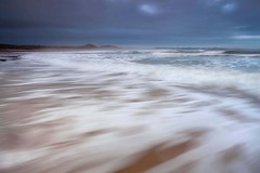 Embleton Exhileration (Julian Barker) Tags: embleton bay swash froth sea water movement ocean north northumberland east england uk great britain europe beach shore shoreline exhileration speed canon dslr 5d mkii
