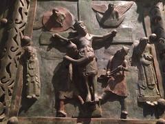 San Zeno. Verona. Italy. (vittorio vida) Tags: sanzeno verona italy church basilica door cathedral crucifixion bronze art sculpture