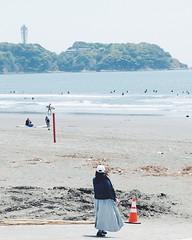 Comfortable place (Makoto A) Tags: vsco shonanlife enoshima sea sky beach fujifilm xf1855 xt20 shonan