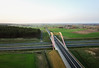 Autostrada A2 (Przemek Turlej) Tags: a2 aerial autstrada dron koåo koåcielec mavic täczowywiadukt aerialview aerialphotography geometry highway road motorway roadinfrastructure polska poland polen beautiful landscape