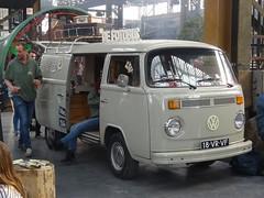 1979 Volkswagen Transporter (harry_nl) Tags: netherlands nederland 2018 utrecht werkspoorkathedraal werkspoorfestival volkswagen t2 transporter 18vrfv sidecode6 fotobus