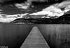 Vendredi 13 et le ponton robinson (paul.porral) Tags: pose longue longexposure le noiretblanc blackandwhite bnw nb flickr ngc landscape water lake lacdannecy