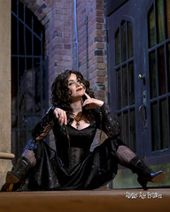 IMG_7487 (Atomic Age Pictures) Tags: bellatrixlestrange harrypotter cosplay pinup pinupgirls pinups stockings heels heelsstockings