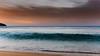 Sunrise Seascape - Wave (Merrillie) Tags: daybreak landscape cloudy dawn waves waterscape water sunrise newsouthwales clouds earlymorning nsw sky seascape ocean sea rocks nature coastal morning outdoors killcarebeach australia centralcoast killcare coast