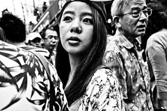 Ueno Portrait (Victor Borst) Tags: street streetphotography streetlife reallife real realpeople asia asian asians fashion faces face fashionable facesoftokyo candid travel t travelling trip traffic traveling sexy woman lady girl female portrait streetportrait blackandwhite bw mono monotone monochrome urban urbanroots urbanjungle city cityscape citylife tokyo japan japanese