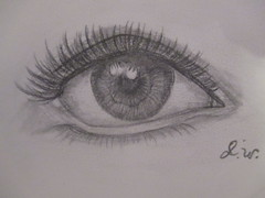 Lesson 54. Another Eye! (21PixelArts) Tags: eye drawing shading