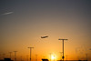 plane at sunset (Lakeside Annie) Tags: 04202018 2018 20180420 april20 cdia clt charlotte charlottedouglasinternationalairport charlottenc d7100 friday leannefzaras nikkor nikkor55300mmf4556 nikon nikond7100 northcarolina sarazphotography airport plane planespotting