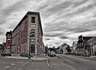 Elora Ontario - Canada - Gordon Block - Heritage Building