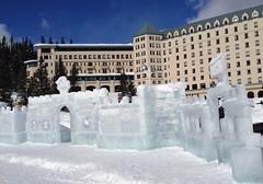 Chateau Ice Castle (Mr. Happy Face - Peace :)) Tags: ice castle hotel art2018 scenery art yyc banff canadaparks lakelouise fairmount rockies rockymountains