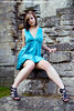 Claudia3886me (sensualimages) Tags: sensualimagesphotography sensual woman lady girl claudia sexy young student ruins bluedress abbey outdoor portrait brunette