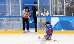 Paralympic_IceHockey_Korea_Italy_22 (KOREA.NET - Official page of the Republic of Korea) Tags: 평창 2018평창동계패럴림픽 강릉시 강릉하키센터 강릉올림픽파크 파라아이스하키 아이스하키 2018pyeongchangwinterparalympic paralympics icehockey gangneunghockeycenter bronzemedalgame