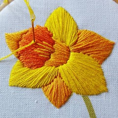 You've still time to download and stitch this #free daffodil embroidery pattern available on my website. It'd make a lovely Easter gift for a loved one 🐣 (ohsewbootiful) Tags: ifttt instagram embroidery etsy etsyuk gifts giftsforher homedecor hoopart fiberart handembroidery handmade etsyseller embroideryhoop shophandmade handmadegifts decor wallhanging bestofetsy instaart hoopsofinstagram madebyme stitchersofinstagram