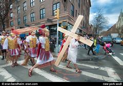 Via Dolorosa @ 8th ave. nyc (eraneran70) Tags: eran bendheim canon eos1mark3 tamron1530 via dolorosa jesus cross march religious nyc manhattan