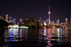 Toronto Reflections (Ben_Senior) Tags: toronto ontario canada downtown downtowntoronto ytz cytz citycentre airport billybishopairport billybishop city skyline torontocitycentreairport bensenior pilot flying flight aviation aircraft airline airliner airplane nikon d7100 nikond7100 night nighttime reflections reflection light lights color colour colors colours colorful colourful outdoors water lake lakeontario cntower tower building buildings landmark bigcity pink purple green blue orange white yellow red dark