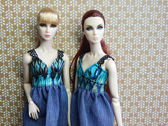 """Alessandra"" reloaded ; ) (Levitation_inc.) Tags: ooak doll dolls handmade dress boho summer style barbie royalty fashion fashions etsy levitation levitationfashion eden litlith lillith twins blair nuface fr2"