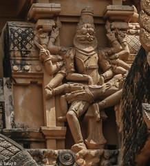 Lord Narasimha (Balaji Photography - 4.9M views and Growing) Tags: narasimha lakshminarasimha vishnu mythology puranas temple templearchitecture temples hindu india thanjavur unesco unescoheritagelocosteamenginesteamloco