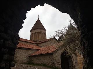 Church of the Virgin, Ananuri, Georgia